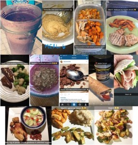 Meals from Trainer Lindseys Ideal Fit 15 Day Challenge